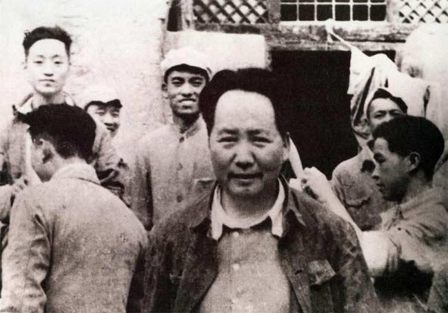 解放战争毛泽东军事活动照